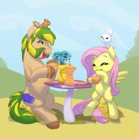 Commission: Tea for two by Siansaar