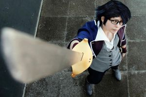 Saruhiko Cosplay - don't look at me. by ShadowFox-Cosplay