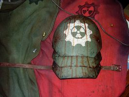 WIP Wasteland Shoulder Guard 4 by DirtyandDistressed