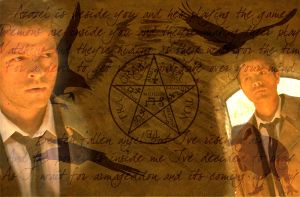 Castiel to hell and back by Water-Pixie