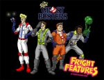 Fright Features wallpaper by cartoonistaaron