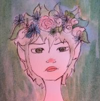 Oc in water color  by victoriagh