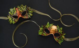 Oak and Leaf Masks by windfalcon