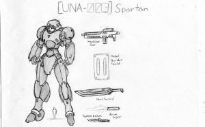 UNA-003 Spartan by Linkinpark30101