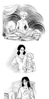 Illustrations for the book by Adelaiy