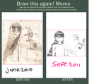 Draw this again meme by TintjeMadelintje101