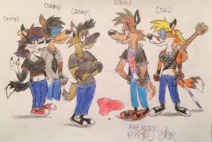The Wild K-9's:Pool of Blood by Fox-Jake
