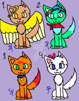 Cute Adopts *1 left* by Snowflame132
