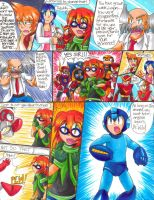 Megaman: S-H-D Manga Page 35 by Sonicbandicoot