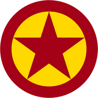 Roundel of Communist Manchurian Air Force by kyuzoaoi