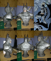 Batman Bust by totya0108