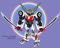 TF Prime: Wheeljack by rysenok