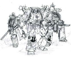 Iron Warriors by cyphercodicer2