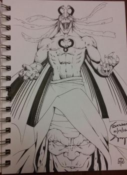 Mumm-ra, the ever-living! by TotalMayhem