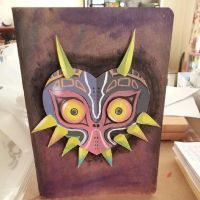 Terrible Fate - Majora's Mask Sketchbook by ditto9