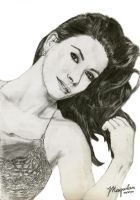 Catherine Zeta Jones by drawrealisticface