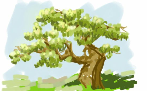 arbol by Blebot
