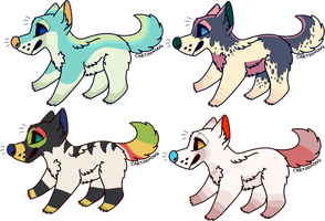 Themed Canine adoptable auction (CLOSED) by WaveMonster
