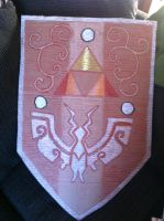 Toon Link's Sheild by MaggienToby