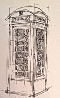 Telephone Box by CharlotteLT