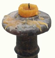 Stone candlestick 02 by barefootliam-stock