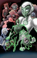 Green Lantern's Light by toonbaboon