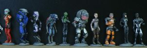 Mass Effect 2 squad by virtualmorrigan