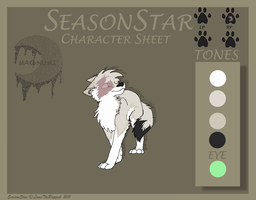 SeasonStar - Character Sheet by LunaThePuppeh