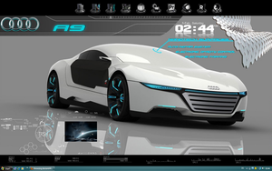 Audi A9 for Rainmeter by uticasasa