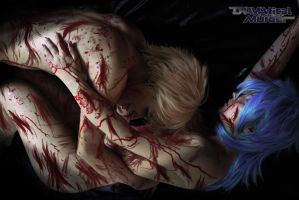 Noiz x Aoba Bad End - When love and death embrace by Albitxito