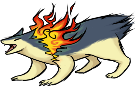 Typhlosion by TheCompleteAnimorph