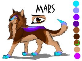 Mars Color Reff by dragongirl995