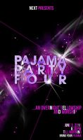 pajama party 4 poster by keyotz08