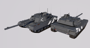 Schwerepanzer 62 Main Battle Tank by TheoComm