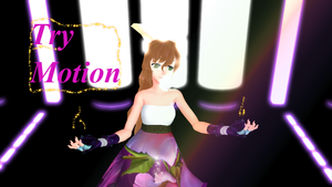 [MMD] New Full Motion - Try (video link) DL UP NOW by Hoshiumi