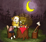 Dinner in the forest by j-bro10