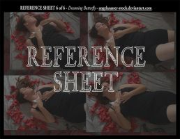 REFERENCE SHEET 6 of 6: Dreaming Butterfly by themuseslibrary