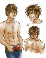 Shirtless Mikhail by Angelkaat