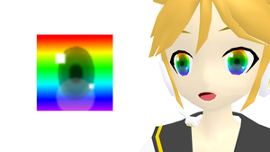Rainbow eye texture + download by Nanana-P