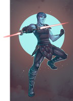 SWTOR Sith Chiss by AvionEtca by Aliens-of-Star-Wars