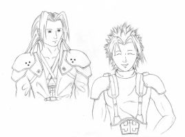 FF7CC - Starting Out - lineart by CSKazaam