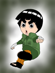 Rock Lee -Chibi by MusicLova4eva