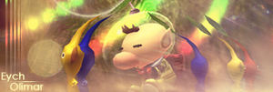 Olimar sig for Eych by SmashMobius
