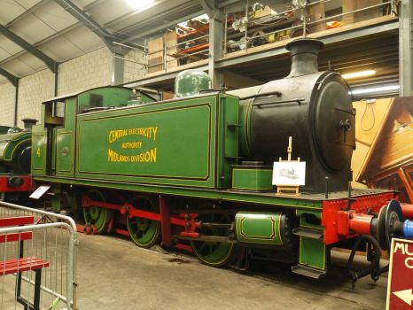 Robert Stephenson 0-6-0T No 7684  Nechells No 4 by The-Transport-Guild