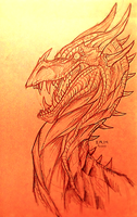Dragonnnn by MutantParasiteX