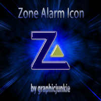 Zone Alarm Glass Icon by graphicjunkie
