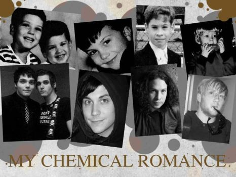 MCR childhood by darkwaylovesMCR