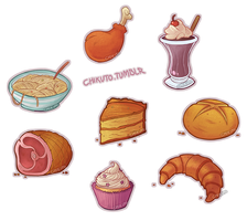 Yummy Foods by Chikuto