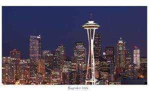 Seattle Skyline by Raymaker
