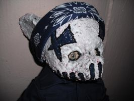 Baby Pig Benis mask by thedollmaker